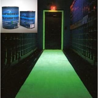 Trasparente Fosforescente poliuretano PHU2K