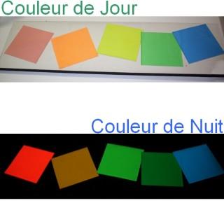 Film adesivo fotoluminescente colorato di giorno 1m x 50m