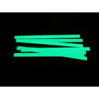 Striscia adesiva fotoluminescente in alluminio
