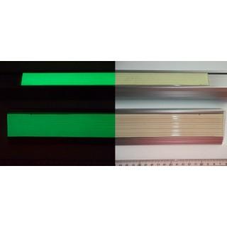 Banda antisdrucciola fotoluminescente di gomma