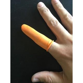 Guanti con dita di gomma - Confezione da 100 pezzi
